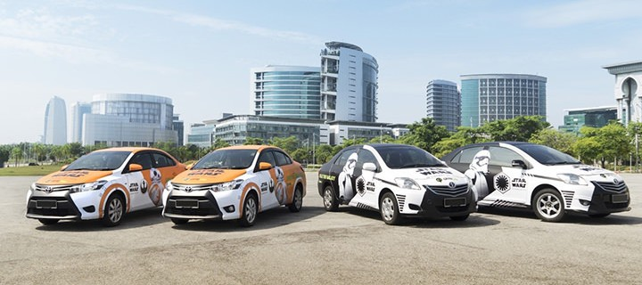 GrabCar launches STAR WARS – themed vehicles