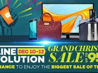 150,000 Items Purchased on the First Day of Lazada Grand Christmas Sale; 2 days to go