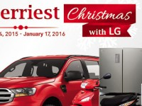 Ford Everest, special discounts and more with 'Merriest Christmas with LG' promo
