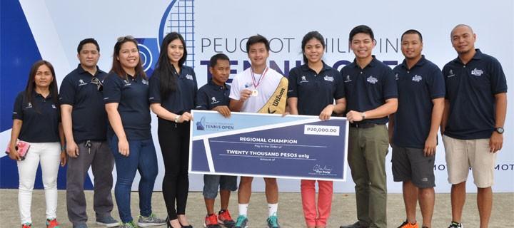 PH's Top Tennis Players Face Off in PPTO Nueva Ecija Leg