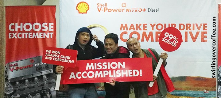 Shell V-Power Nitro+ ends the year with excitement