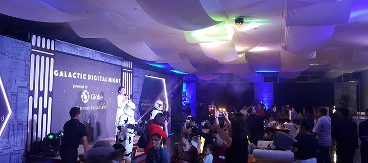 Globe Telecom holds thanksgiving party for bloggers, influencers
