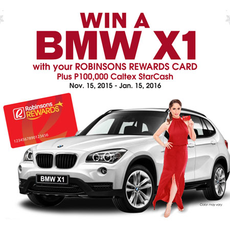 Win-a-BMW-X1-plus-P100,000-worth-of-free-fuel-by-using-Robinsons-Rewards-Card-for-Caltex-fuel-ups
