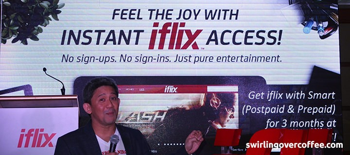 Smart and PLDT subscribers to enjoy the iflix gift of entertainment