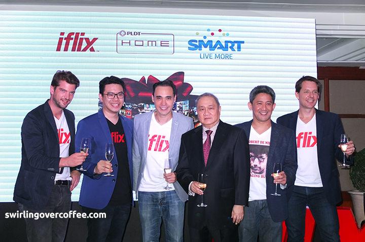 iflix, Smart, PLDT