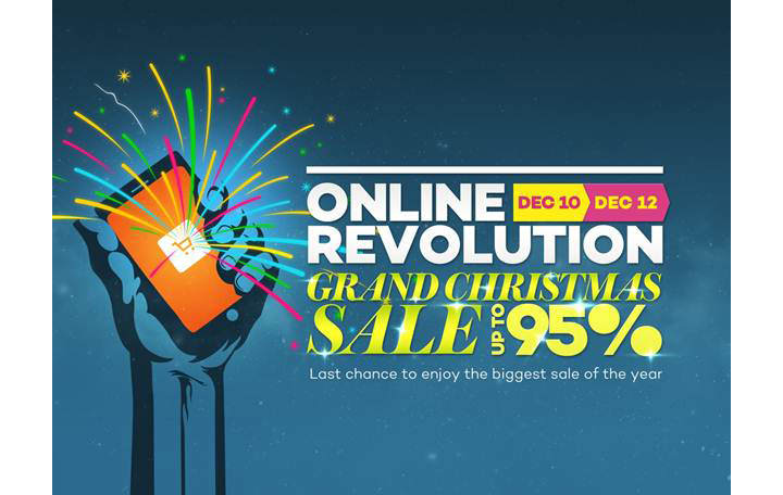 Lazada to hold a 3-day Grand Christmas Sale, with deep discounts and shocking holiday deals