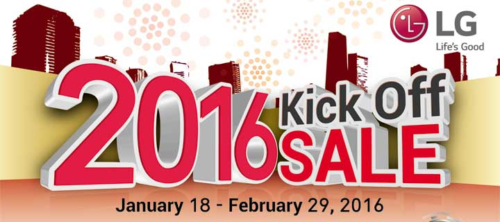 Amazing deals at LG Mobile's 2016 Kick-Off sale