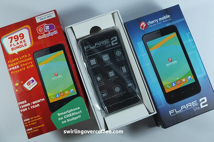 Chery Mobile P799 Flare Lite 2 Bundle, Cherry Mobile Flare Lite 2