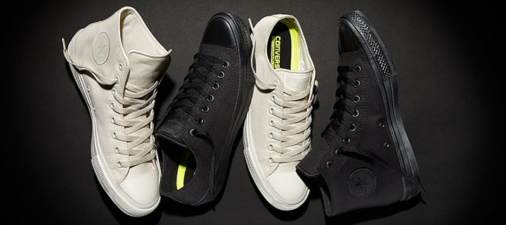 Chuck Taylor All Star II now available in parchment and black for Php 3990