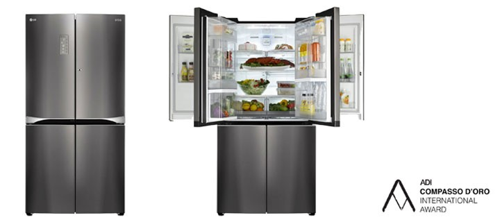 LG wins coveted Italian design award for Dual Door-in-DoorTM refrigerator