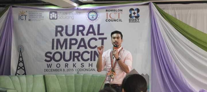 Spreading High-Earning Online Jobs in the Province: DOST-ICT Office, Freelancer.com holds 2015's last Rural Impact Sourcing workshop in Romblon