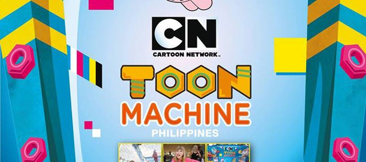 Gigantic Toon Machine comes to Manila