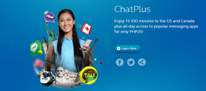 Enjoy non-stop messaging, chatting, and international calling with Globe this Holiday season