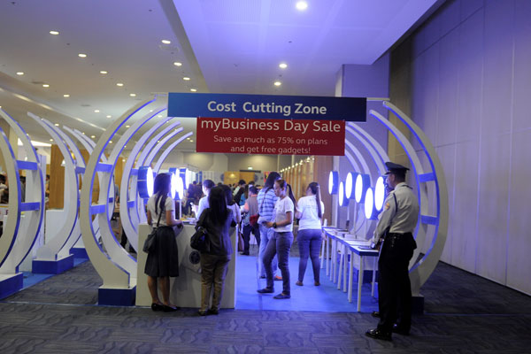 The Globe myBusiness Day Davao Expo showcased 3 major zones namely Cost Cutting Zone, Revenue Generating Zone and the Operations Improvement Zone that will help participants prioritize the services they need for their business.