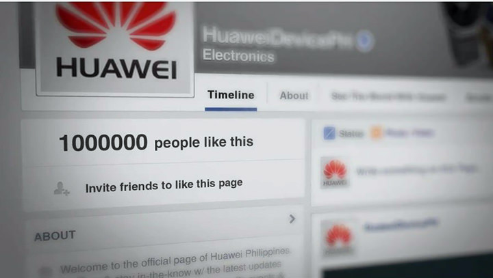 A Great Reason for Huawei PH to Celebrate: 1 Million fans on Facebook