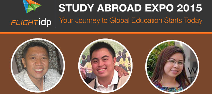 Flight IDP Study Abroad Expo: 3 Stories of a Dream Fulfilled