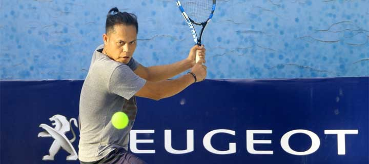 Arcilla, Espinosa Rule Cebu Leg of the Peugeot Philippines Tennis Open