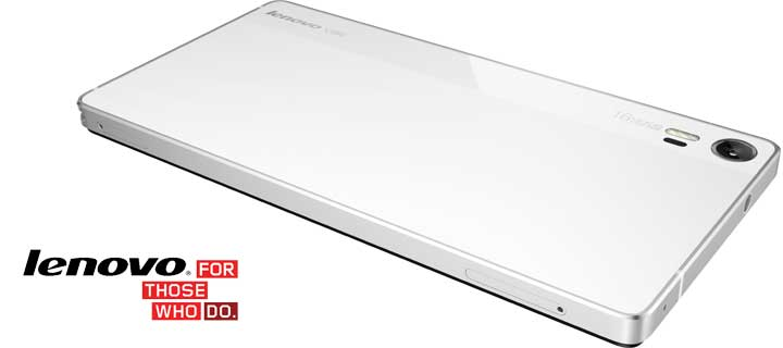 The Pearl White Lenovo VIBE Shot, Now Available in Retail Stores