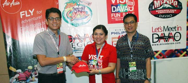 AirAsia inks partnership with Davao tourism for Visit Davao Fun Sale 2016