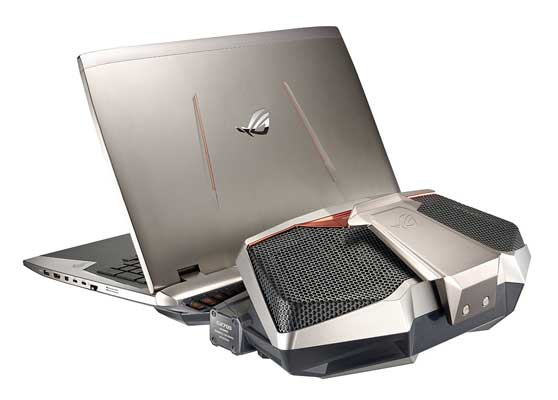 ROG GX700 with docking