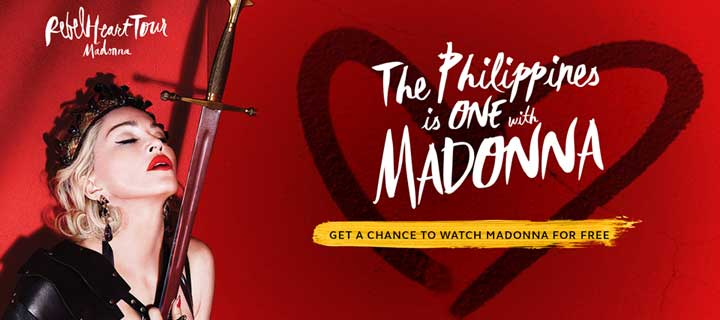 Going Crazy over Madonna in Manila?