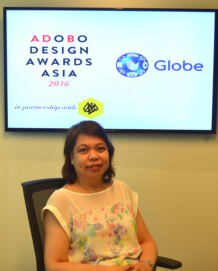 Globe Senior Vice President for Corporate Communications Yoly Crisanto