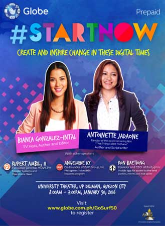 Globe-#StartNow-Youth-Summit