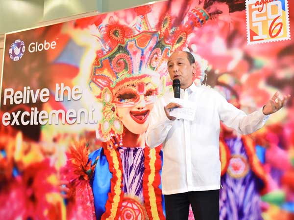 TPB COO Domingo Enerio III shares milestones of TPB's partnership with Globe as the connectivity partner of tourists and balikbayans