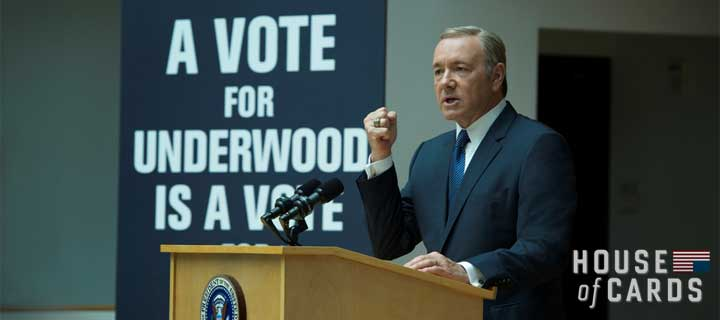 House of Cards Seasons 1 to 3 Weekend Watchathons on RTL CBS ENTERTAINMENT HD Ahead of Show's Highly-Anticipated Fourth Season