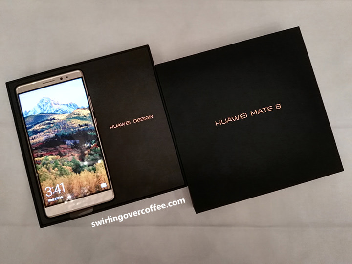 Huawei Mate 8 Unboxing and First Thoughts