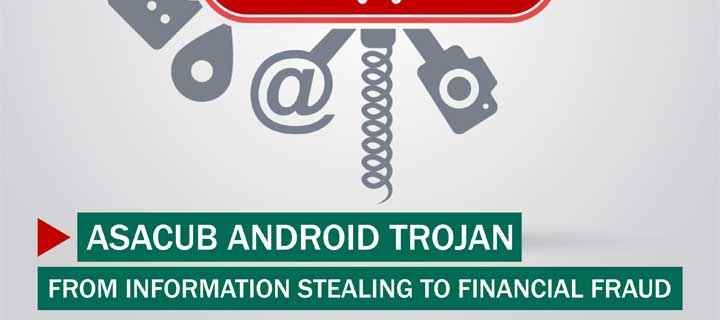 Asacub Android Trojan: From Information Stealing to Financial Fraud