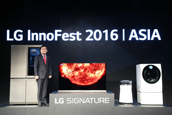 LG postioned as ASIA's innovation leader with new signature lineup