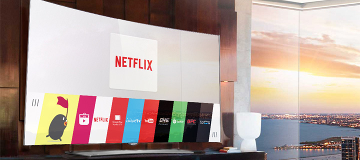 LG Smart TV expands entertainment options with Netflix and more