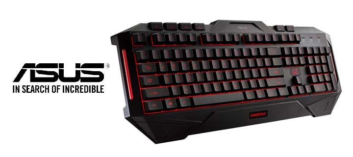 ASUS Announces Cerberus Gaming Keyboard and Cerberus Gaming Mouse