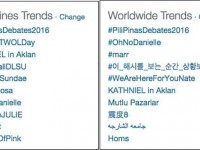 Filipinos See and Hear the Roar of the Crowd of the First #PiliPinasDebates2016 on Twitter