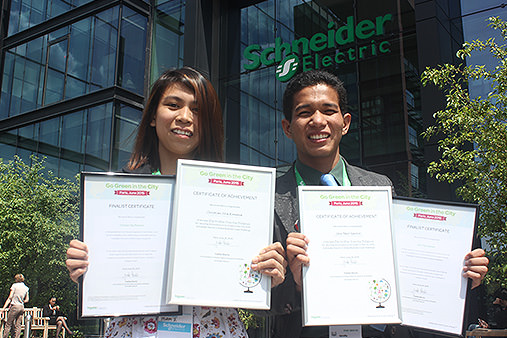 Go Green in the City, Schneider Electric