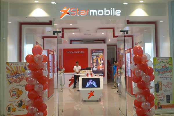 Starmobile concept store at SM City Iloilo