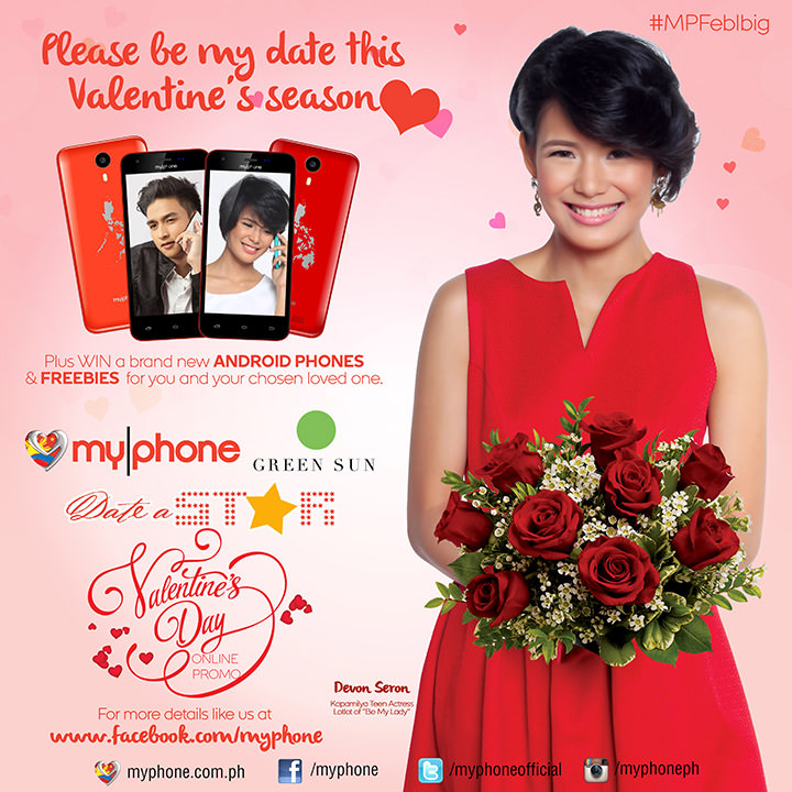 Win a date with your favorite MyPhone Stars this Valentine     s     SwirlingOverCoffee