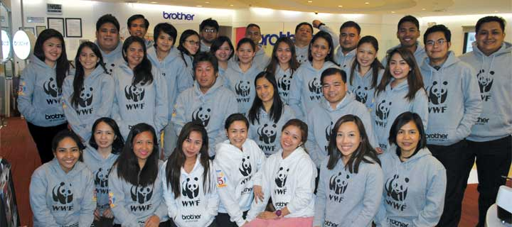 Brother Philippines team up with WWF for a brighter, more sustainable future