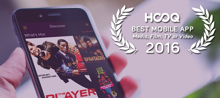 HOOQ named best mobile app in GLOMO Awards in Barcelona