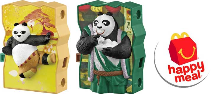 Discover happiness in a box with McDonald's new corn cup option, Kung Fu Panda 3 toys