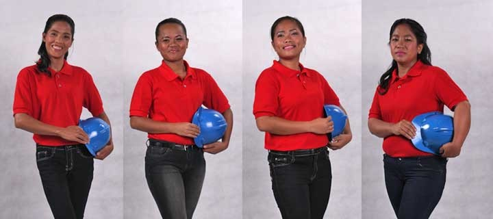 Women show they can thrive in men's world in Holcim PH's Galing Mason