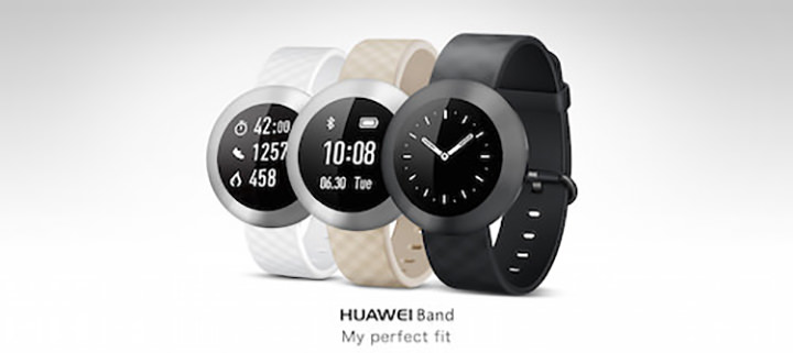 The water-resistant HUAWEI Band can track your sleep, health, and fitness activities