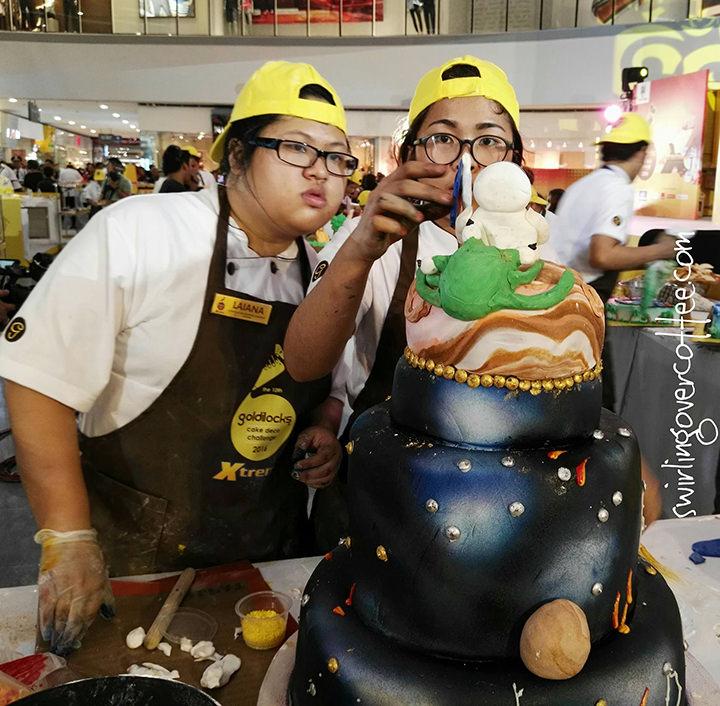 Goldilocks Intercollegiate Cake Decorating Challenge 2016
