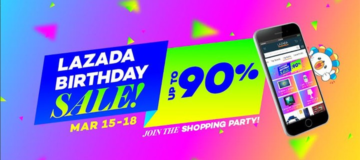 Lazada Philippines Celebrates 4th Anniversary