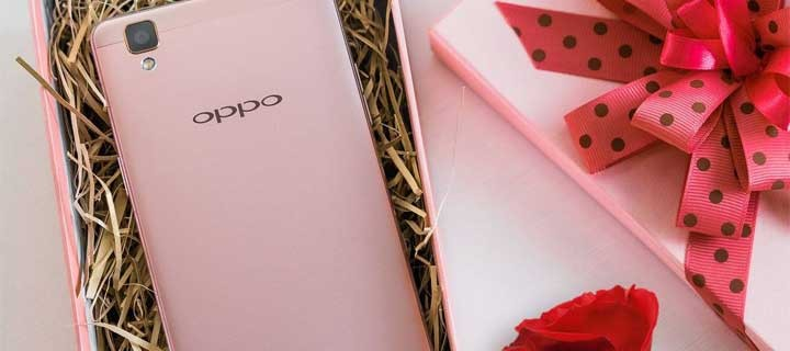 Rose-Gold OPPO F1 Now Available in PH