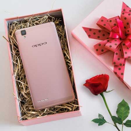 OPPO_F1_Rose_Gold