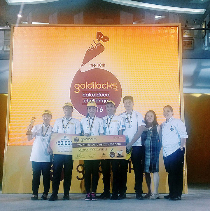 Pangasinan State University - Lingayen, Goldilocks Intercollegiate Cake Decorating Challenge 2016