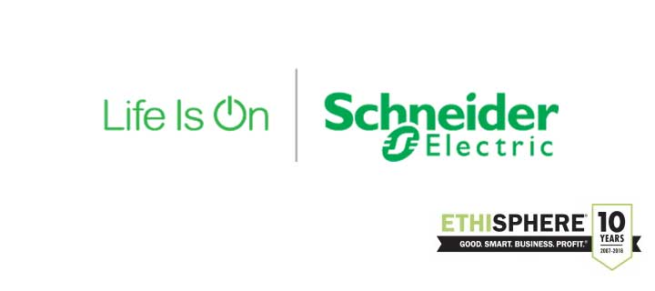 Schneider Electric named among the World's Most Ethical Companies® by the Ethisphere® Institute for the sixth consecutive year