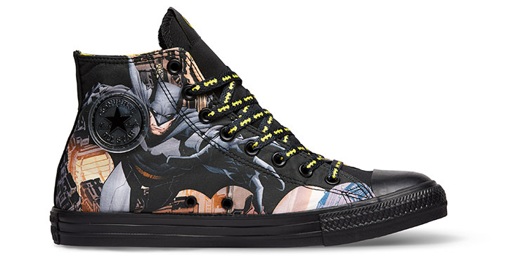Converse Limited Edition DC Comics Sneakers, Team Batman